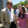 Nadine and Kelsey Grammer