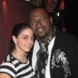 Nadine and Randy Jackson